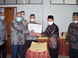 Kesepakatan Alih Pengelolaan Akbid Wira Buana Kepada Dr.H. Andi Warisno,M.MPd
